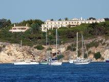 Portimao-resort on the Atlantic coast. Of the Algarve, Portugal Royalty Free Stock Photo