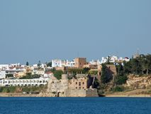 Portimao-resort on the Atlantic coast Stock Photography