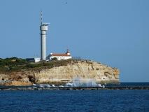 Portimao-resort on the Atlantic coast Stock Image