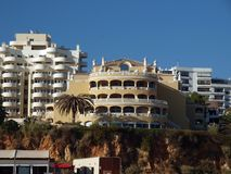 Portimao-resort on the Atlantic coast Stock Photos
