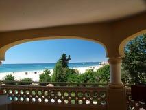 Portimao-resort on the Atlantic coast of the Algar. Ve, Portugal Royalty Free Stock Image