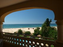 Portimao-resort on the Atlantic coast of the Algar Stock Photo