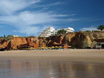 Portimao-resort on the Atlantic coast of the Algar Royalty Free Stock Image