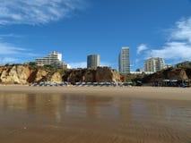 Portimao-resort on the Atlantic coast of the Algar Stock Photography