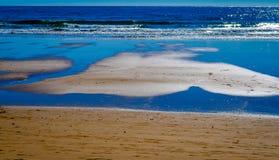Portimao-Strand Lizenzfreies Stockbild