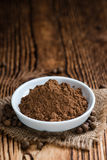 Portion of Allspice powder Stock Photography