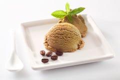 Portion aromatique de glace de café image libre de droits