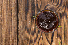 Portion of Barbeque Sauce Royalty Free Stock Photography