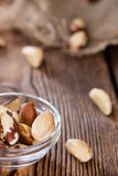 Portion of Brazil Nuts Stock Photos
