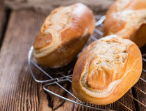 Portion of Buns Stock Images