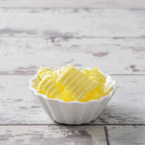 Portion Of Butter Royalty Free Stock Photos