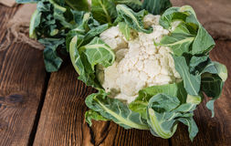 Portion of Cauliflower Royalty Free Stock Image