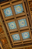 Portion of Ceiling in Library of Congress Stock Photography