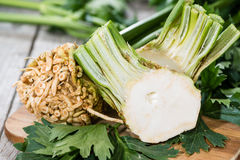 Portion of Celeriac Royalty Free Stock Images
