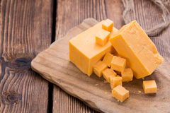 Portion of Cheddar Stock Photos