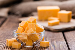 Portion of Cheddar Stock Images