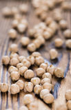 Portion of Chick Peas Royalty Free Stock Photo
