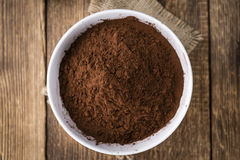 Portion of Cocoa powder Stock Photos