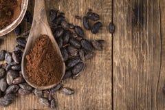 Portion of Cocoa powder Royalty Free Stock Photo