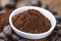 Portion of Cocoa powder Royalty Free Stock Photography