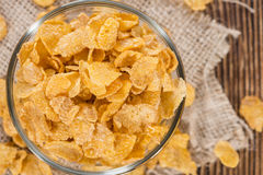 Portion of Cornflakes Stock Images
