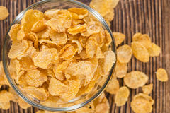 Portion of Cornflakes Royalty Free Stock Image