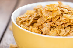 Portion of Cornflakes Stock Photos