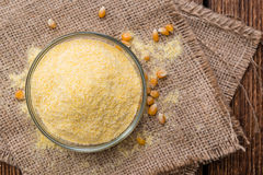 Portion of Cornmeal Stock Image