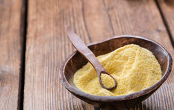 Portion of Cornmeal Royalty Free Stock Photography