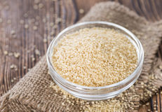 Portion of Couscous Royalty Free Stock Photos