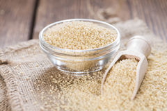Portion of Couscous Royalty Free Stock Image