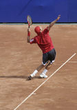 Portion d'homme de tennis Image stock
