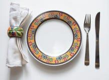 Portion de table Photos stock
