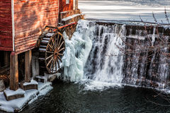 Dell's Mill. A portion of the Dell's Mill in Augusta, Wisconsin Stock Photos
