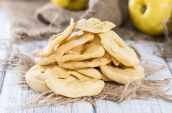 Portion of dried Apples Royalty Free Stock Photography