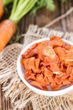 Portion of Dried Carrots Stock Photos