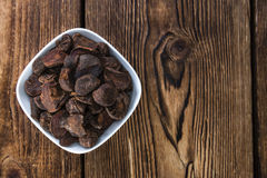 Portion of dried Cola Nuts Royalty Free Stock Images