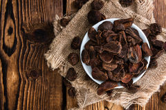 Portion of dried Cola Nuts Stock Image