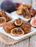 Portion of dried Figs Stock Images