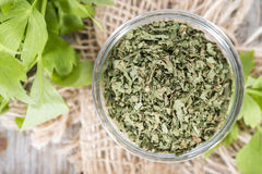 Portion of dried Lovage Stock Image
