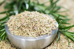 Portion of dried Rosemary Royalty Free Stock Photos