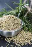 Portion of dried Rosemary Stock Images