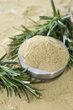 Portion of dried Rosemary Stock Image