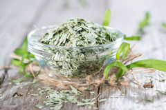 Portion of dried Tarragon Stock Photo
