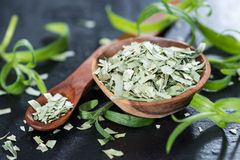 Portion of dried Tarragon Stock Photography