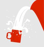 Portion drink Stock Photos