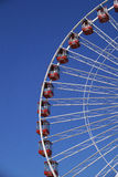 Portion of Ferris wheel Royalty Free Stock Photo