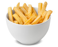 Portion of french fries Stock Images