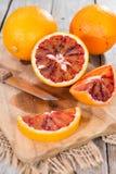 Portion of fresh Blood Orange Royalty Free Stock Photography