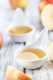 Portion of fresh made Applesauce (selective focus) Stock Photography